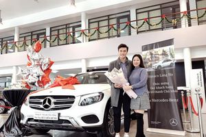 Cả hai tuyển thủ tên Bùi Tiến Dũng đều 'rinh' Mercedes-Benz GLC