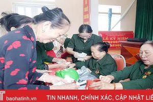 603 triệu đồng giúp hội viên cựu thanh niên xung phong Thạch Hà