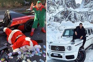 Hội Rich Kids khoe hàng núi quà, ăn chơi xa xỉ dịp cuối năm gây 'náo loạn' Instagram