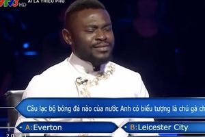 Chương trình 'Ai là triệu phú' nhầm kiến thức về CLB Tottenham?