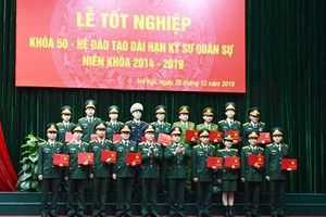 Học viện Kỹ thuật quân sự tổ chức Lễ tốt nghiệp Khóa 50