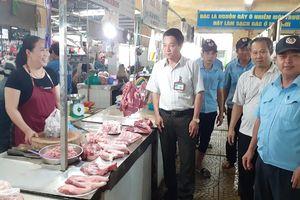 Các chợ Cẩm Lệ đạt tiêu chí an toàn thực phẩm và văn hóa văn minh thương mại