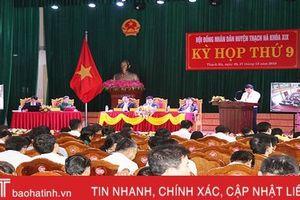 Các huyện, thị ở Hà Tĩnh bàn giải pháp phát triển kinh tế - xã hội năm 2020