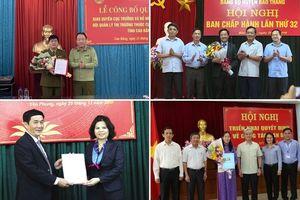 Lãnh đạo mới ở Đồng Nai, Bắc Ninh, Lào Cai, Cao Bằng