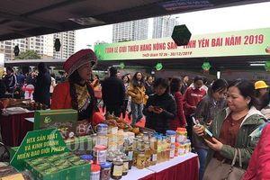 Nông sản Yên Bái đổ bộ về thị trường Thủ đô
