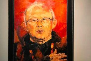 Đấu giá bức tranh HLV Park Hang-seo gây quỹ từ thiện lan tỏa yêu thương