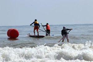 Khai mạc Giải đua thuyền buồm và ván chèo đứng các câu lạc bộ toàn quốc