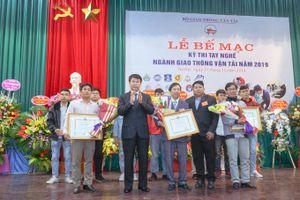 Trường CĐ GTVT TƯ I đạt giải Nhất Hội thi Tay nghề giỏi GTVT 2019