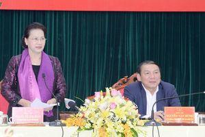 Chủ tịch Quốc hội làm việc với lãnh đạo tỉnh Quảng Trị
