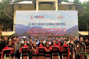 Khai trương hai làng du lịch sinh thái cộng đồng ở miền Trung