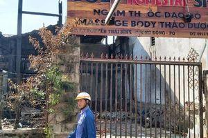 CLIP: Hiện trường tan hoang vụ cháy homestay ở Phú Quốc khiến 7 người thương vong