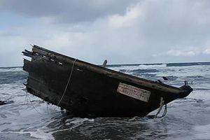 Nhật Bản phát hiện 'tàu ma' chứa 7 thi thể