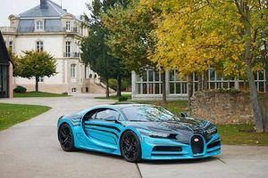 Bugatti Chiron Zebra độc nhất được tạo ra như thế nào?