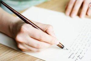 Bài gợi ý viết thư UPU năm 2020: Em hãy viết thông điệp gửi một người lớn
