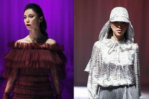 Siêu mẫu Khả Trang sải bước thần thái, cùng Hoa hậu Hoàn Vũ Riyo Mori 'quét sạch' sàn diễn