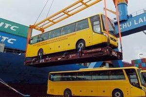 Xe bus thương hiệu Việt Nam được xuất khẩu sang Philippines