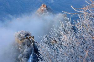 Kẹt trên vách núi vì cố trộm gạch phong thủy từ Vạn Lý Trường Thành