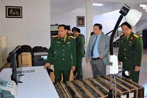 Bộ Quốc phòng trao thiết bị y tế tặng Trung tâm Điều dưỡng người có công tỉnh Lâm Đồng