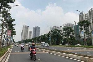 Hà Nội đặt tên và điều chỉnh độ dài một số đường, phố