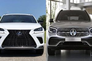Tầm giá 2,5 tỉ mua Mercedes-Benz GLC300 hay Lexus NX300?