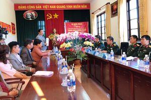 Bộ Quốc phòng tặng trang thiết bị trị cho Trung tâm Điều dưỡng Người có công Lâm Đồng