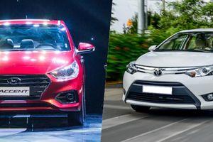 Sedan hạng B: Toyota Vios hay Hyundai Accent?