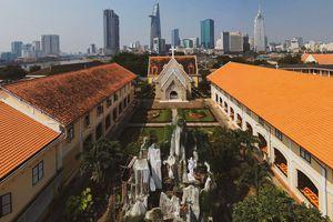 Bên trong Nhà thờ và Tu viện Thủ Thiêm vừa được xếp hạng di tích