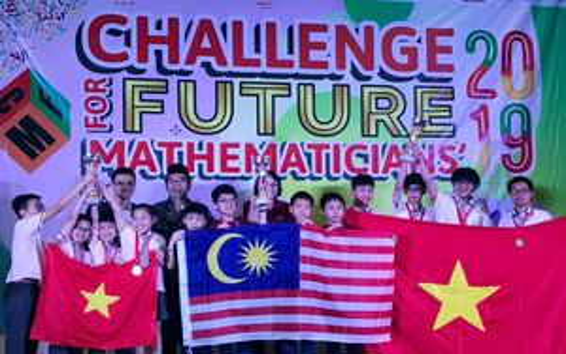 Hà Nội giành 10 huy chương vàng tại cuộc thi toán ở Indonesia