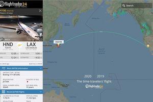 Chuyến bay 'xuyên không': Cất cánh năm 2020, hạ cánh năm 2019