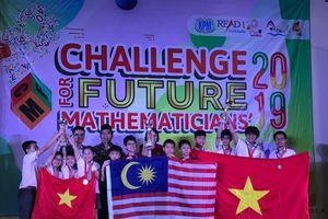 'Thử thách nhà Toán học tương lai' năm 2019: Học sinh Hà Nội giành Huy chương vàng