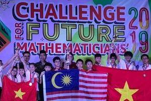 Việt Nam giành 10 HCV tại cuộc thi Thử thách nhà Toán học tương lai