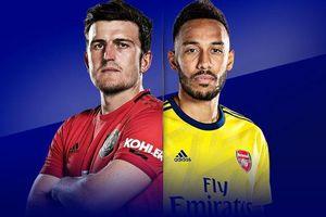 Vòng 21 giải Ngoại hạng Anh ngày đầu năm: Arsenal nghênh đón Manchester United