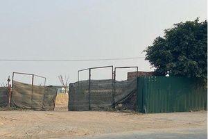 Thạch Bàn: Đất nông nghiệp bị biến tướng thành nhà xưởng, bãi tập kết VLXD