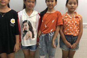 4 học sinh 'nhí' ở Phú Quốc trả lại ví cho người đánh rơi