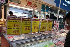Nguồn thực phẩm cấp đông vào siêu thị ở Hà Nội có an toàn?