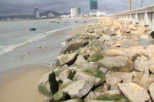 Phát hiện nguồn nước đen ngòm xả thải ra biển Bình Định