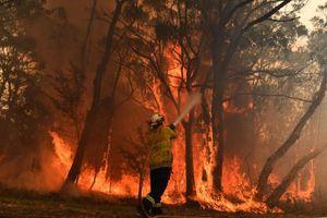 Australia điều tàu hải quân giải cứu người bị mắc kẹt do cháy rừng