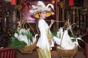 Mỹ Duyên mở hàng cuộc thi nhan sắc Việt đầu năm 2020