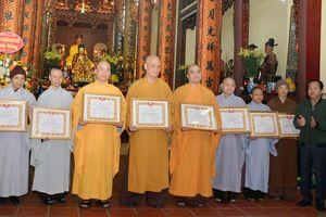 Ban trị sự Phật giáo quận Hoàn Kiếm tổng kết công tác Phật sự năm 2019