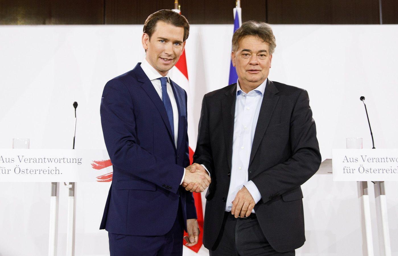 Chính phủ Liên minh của Áo: Người cũ, hy vọng mới
