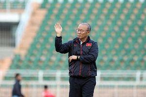 Thầy Park 'đóng cửa' với truyền thông trước thềm vòng chung kết U23 châu Á 2020