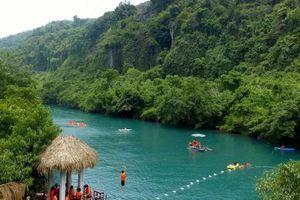 Quảng Bình: Mập mờ đấu giá 2 điểm du lịch Suối Nước Moọc và Sông Chày - Hang Tối?