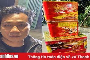 Bắt giữ đối tượng mua 12 kg pháo từ Trung Quốc về Bình Định