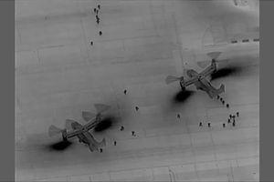 Máy bay đưa binh lính tới ứng phó tình hình căng thẳng tại Đại sứ quán Mỹ gặp nguy ở Iraq
