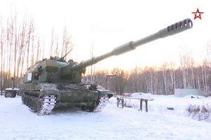 Nga chuẩn bị tiếp nhận lô pháo tự hành 2S35 Koalitsiya-SV sản xuất loạt đầu tiên