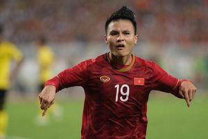 Quang Hải lọt top 20 cầu thủ châu Á hay nhất 2019