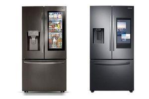 CES 2020: 'Cuộc chiến' tủ lạnh hỗ trợ AI giữa Samsung và LG