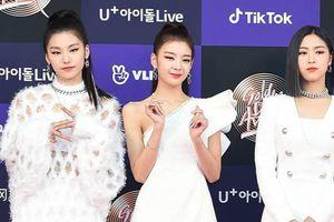 Dàn sao khoe dáng trên thảm đỏ Grammy của Hàn Quốc