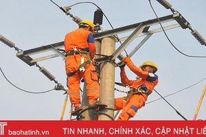 Năm 2020, Điện lực Hà Tĩnh đặt mục tiêu đạt 1.159 triệu kWh điện thương phẩm