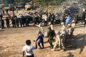 Vụ sập nhà 7 tầng tại Campuchia: Số người chết tăng nhanh lên 23